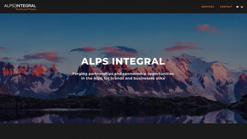Alps Integral – Website Design