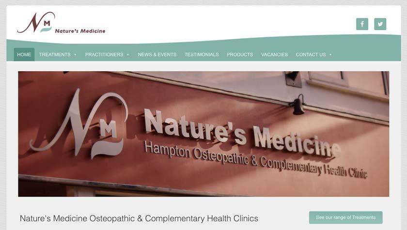 Natures-Medicine-Website